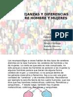 Semejanzas y Diferencias Entre Hombres y Mujeres