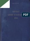 Soviet Uniforms 1961