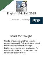 English 101 Day1 15