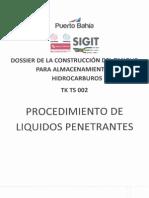 8. Procedimiento de Liquidos Penetrantes