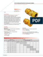 Cable Glands for Armoured and Non-Armoured Cables
