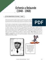 IV BIM - 5to. Año - Guía 5 - Del Ochenio a Belaunde