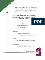 ANALISIS Y DISENO DE LOSAS POSTENSADAS-IPN TESIS.pdf