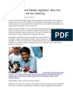 Hardik Patel and Patidar Agitation