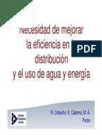 Eficiencia Energética en La Distribución Del Agua