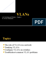 Chapter 3 - VLANs