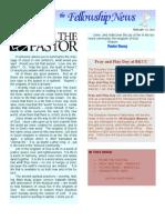 Fellowship News 2/23