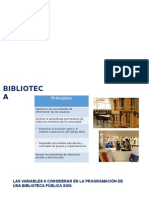Biblioteca Programacion