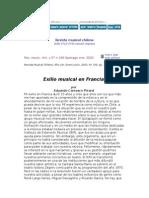 Exilio Musical en Francia