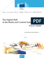 The Digital Shift in the Media and Content Industries