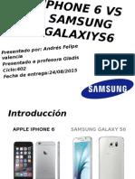iPhone 6 vs Samsung Galaxiys6