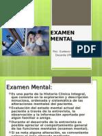 Clase 10 Examen Mental