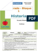 Plan 5to Grado - Bloque 1 Historia.doc