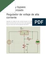 Regulador de voltaje con lm317