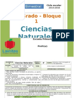 Plan 4to Grado - Bloque 1 Ciencias Naturales (2015-2016).doc