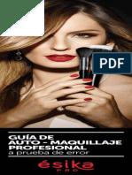 Guía de Automaquillaje  Esika Pro.
