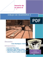 Plano de Losa Aligerada (Trabajo de Dibujo II)(2)