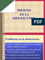 Riesgos en La Adolescencia