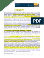 Constructivismo y Aprendizaje Significativo DiazBarriga
