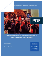2015 09 01 - CSOs and Governance in Turkey
