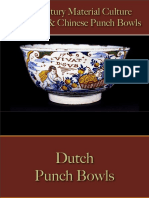 European & Chinese Punch Bowls