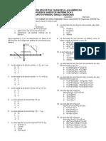 Pruebas Saber de Matemc3a1ticas de Undc3a9cimo Cuarto Periodo