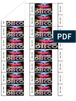 Disco Ticket