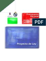 Proyecto de Ley de Presupuesto