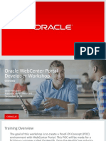 Oracle Workshop Overview