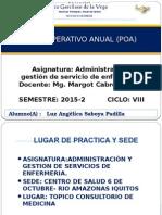 Modelo de Ppt Para Examen de Admistraciòn