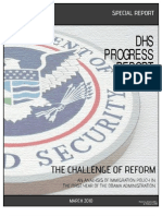DHS Progress Report