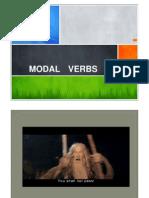 Modal Verbs - Seminário