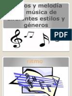 Estilos y Generos Musicales