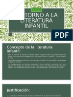En Torno a La Literatura Infantil