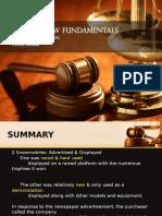 Law Fundamental Case