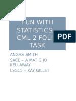 maths folio stats   probs