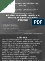 Presentacion Friccion Didactico Tuberias