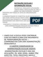 Administ. Escolar e Transforma Ção Social - Paro Cap IV (1)
