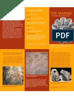 Mayan exhibitl Brochure