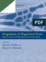 Organismal Form.pdf
