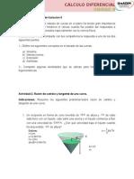 Actividades. Unidad 4 b1 Cálculo Diferencial (1)
