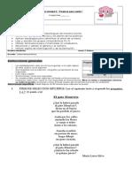 Evaluación Unidad 3 Segundo Basico