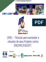 Robustez de Projetos Com Controle de EMI EMC ESD EFT(Www.mecatronicadegaragem.blogspot.com)