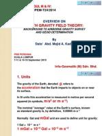 Overview on Earth Gravity Field Theory - Majid Kadir