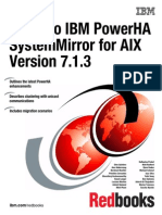 (AIX) Guide to IBM PowerHA SystemMirror for AIX Version 7.1.3