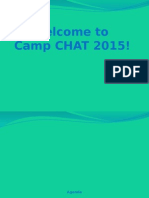 Camp CHAT Training