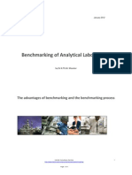 Benchmarking of Analytical Laboratories White Paper