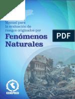 Manual de Evaluacion de Riesgo de Fenomenos Naturales