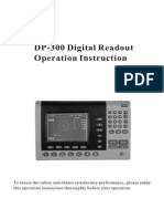 Sinowon Digital Readout DP300 Operation Manual En