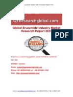 Global Erucamide Industry Market Research Report 2015